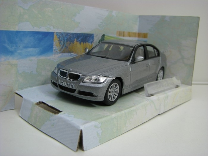 BMW 3 Series Grey 1:43 Cararama
